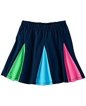 Major Fun Colorblock Skirt