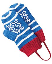 Nordic Knitting Mouse Mittens