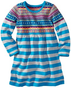 Fun Fair Isle Sweater Dress