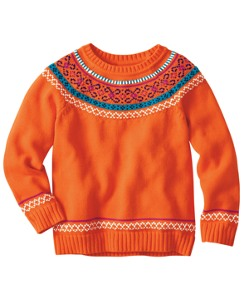 Fairy Tale Nordic Sweater