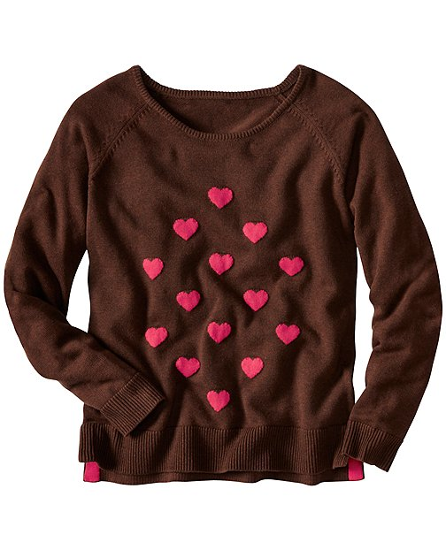 Have A Heart Sweater by Hanna Andersson