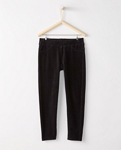 Ribbed Velour Skinny Pants