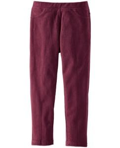 Ribbed Velour Skinny Pants