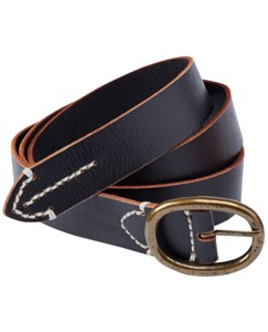 Essential Leather Belt by Hanna Andersson