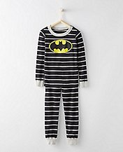 DC Comics™ Batman Long John Pajamas In Organic Cotton by Hanna Andersson