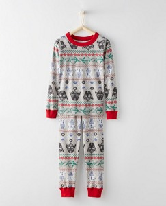 Kids Star Wars™ Long John Pajamas In Organic Cotton for Kids by Hanna Andersson