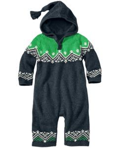 Icelandic Hoodie Sweater Romper