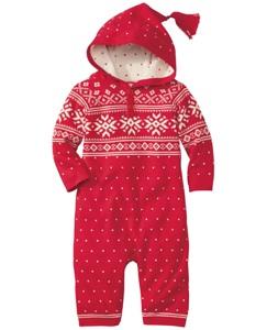 Snowy Sweden Sweater Romper