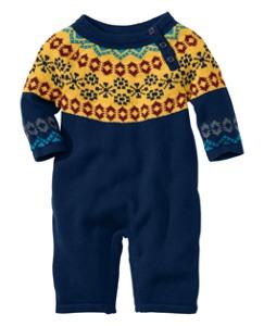 Village Sweater Romper