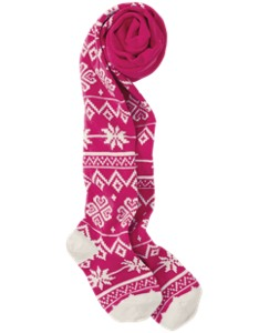 Winterly Fair Isle Tights