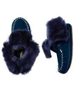 Larsson Moc Toe Slipper By Hanna