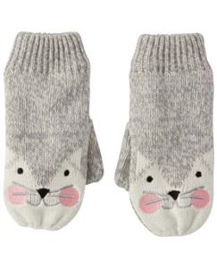 Fleece Lined Critter Mittens