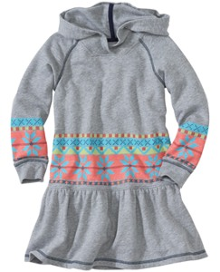 Soft Terry Hoodie Dress