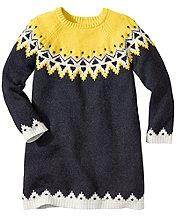 Icelandic Sweater Dress
