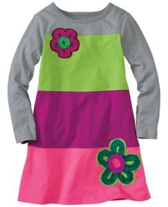 Ruffle Craft Slipover Dress