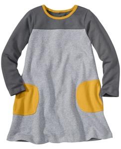Circle Pocket Terry Dress