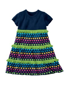 Twirls Love Sweaters Dress