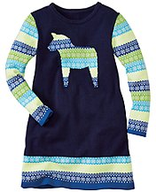 Art Knit Sweater Dress