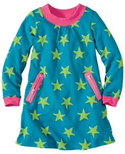 Starry Terry Slipover Dress