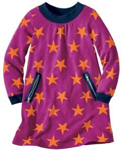 Starry Terry Slipover Dress