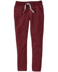 Beribboned Skinny Sweats In 100% Cotton
