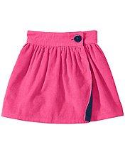 Reversible Cord Skirt