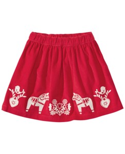 Santa Lucia Embroidered Skirt