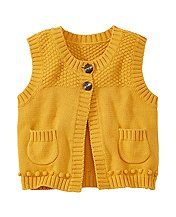Cozy Basketweave Vest