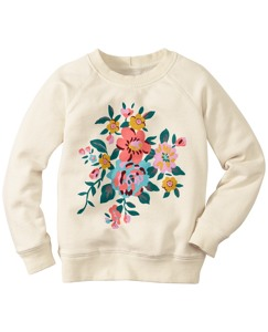 Art Sweatshirt In 100% Cotton