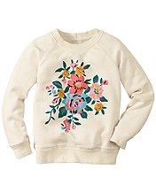 Art Sweatshirt In 100% Cotton
