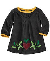 Swedish Heart Pincord Dress