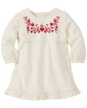 Santa Lucia Embroidered Dress