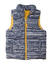 Sweaterknit Puffer Vest