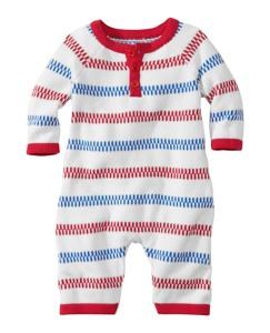 Stripey Sweater Romper