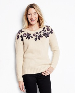 Heritage Leafstitch Sweater