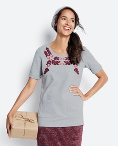 Swedish Garland Tunic In French Terry