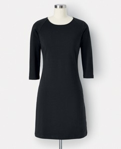 Simple French Terry Dress by Hanna Andersson