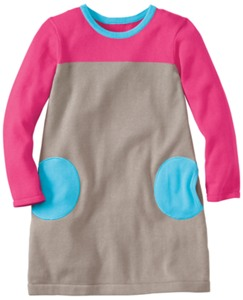 Circle Pocket Sweater Dress