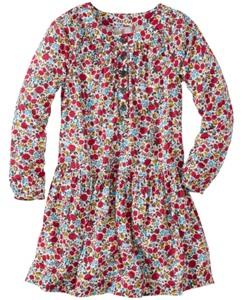Little Meadow Dress In Challis