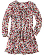 Little Meadow Dress In Challis