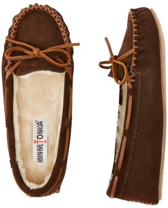 Cozy Slippers By Minnetonka