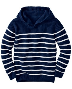Hooded Beach Sweater