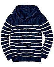 Hooded Beach Sweater