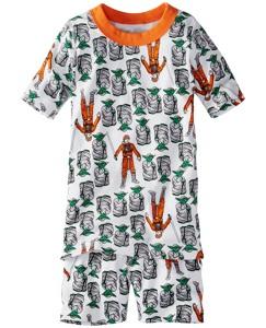 Star Wars™ Short John Pajamas In Organic Cotton