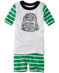 Star Wars™ Short John Pajamas In Organic Cotton