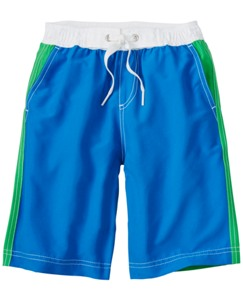 Colorblock Board Shorts With UPF 50+