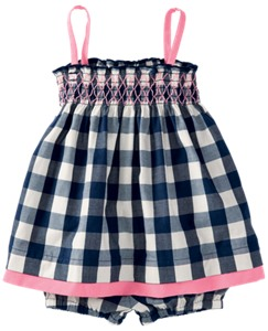 Smocked Sundress Set by Hanna Andersson