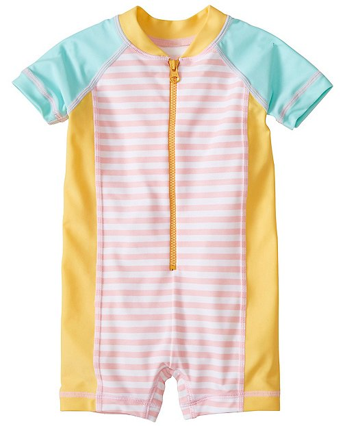 Swimmy Rash Guard Baby Suit by Hanna Andersson