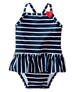Swimmy Skirted One Piece by Hanna Andersson