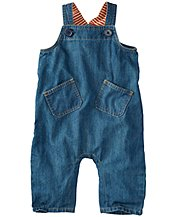 Supersoft Chambray Overalls by Hanna Andersson